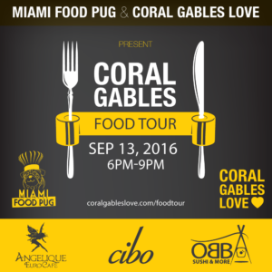Coral Gables Love Food Tour September 2016