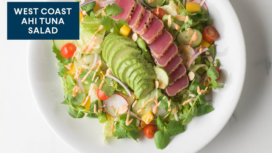 Ahi Tuna Salad Recipe Food Network